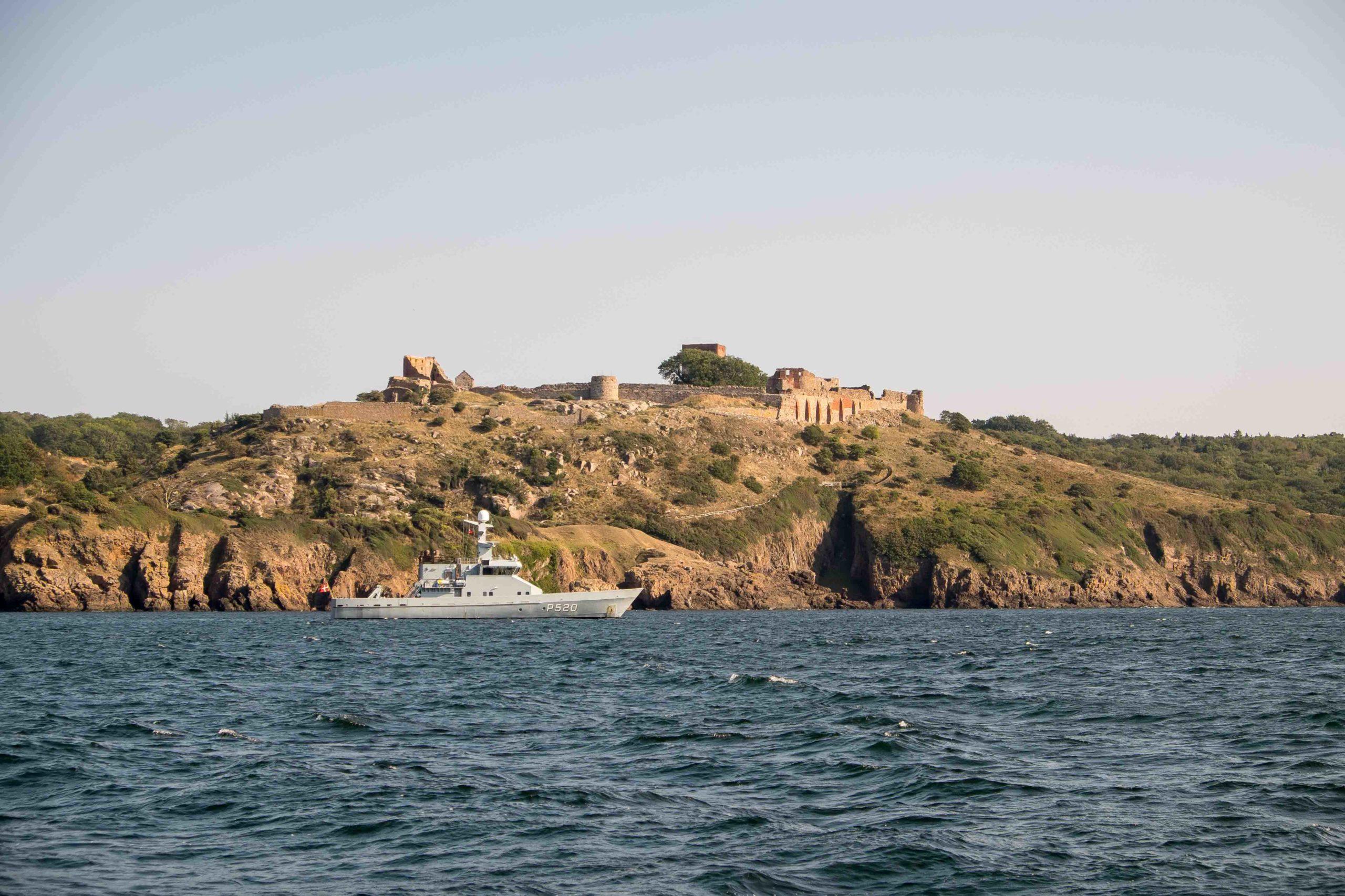 Patrouillenboot im Einsatz