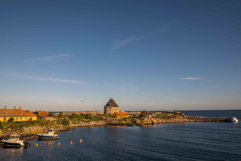 Frederiksø im Morgenlicht