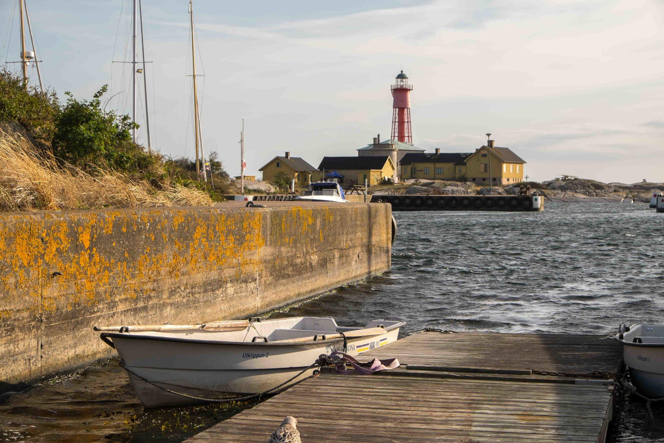 Utklippan: Ruderboot zum Übersetzen zum Jugenherberge