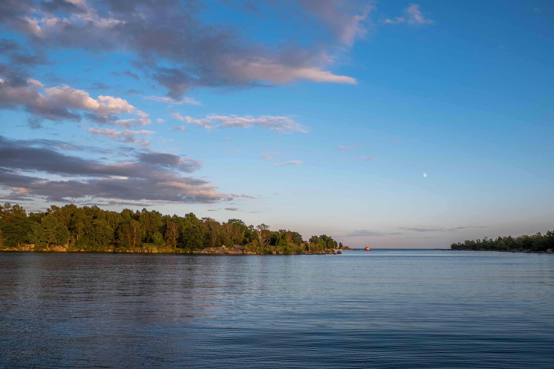 Dragsö: Schwedische Schäre mit Fischkutter