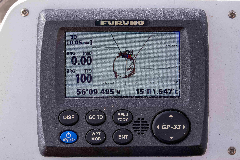 Dragsö: Ankeralarm dank GPS