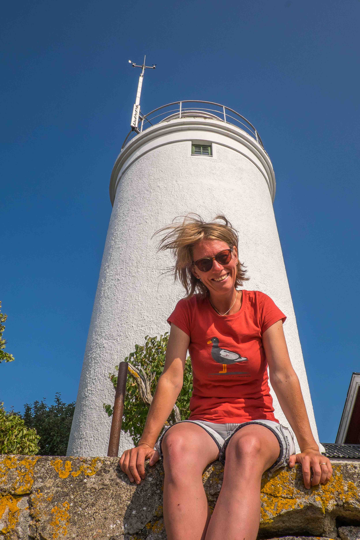 Hanö: windige Leuchturmfotos