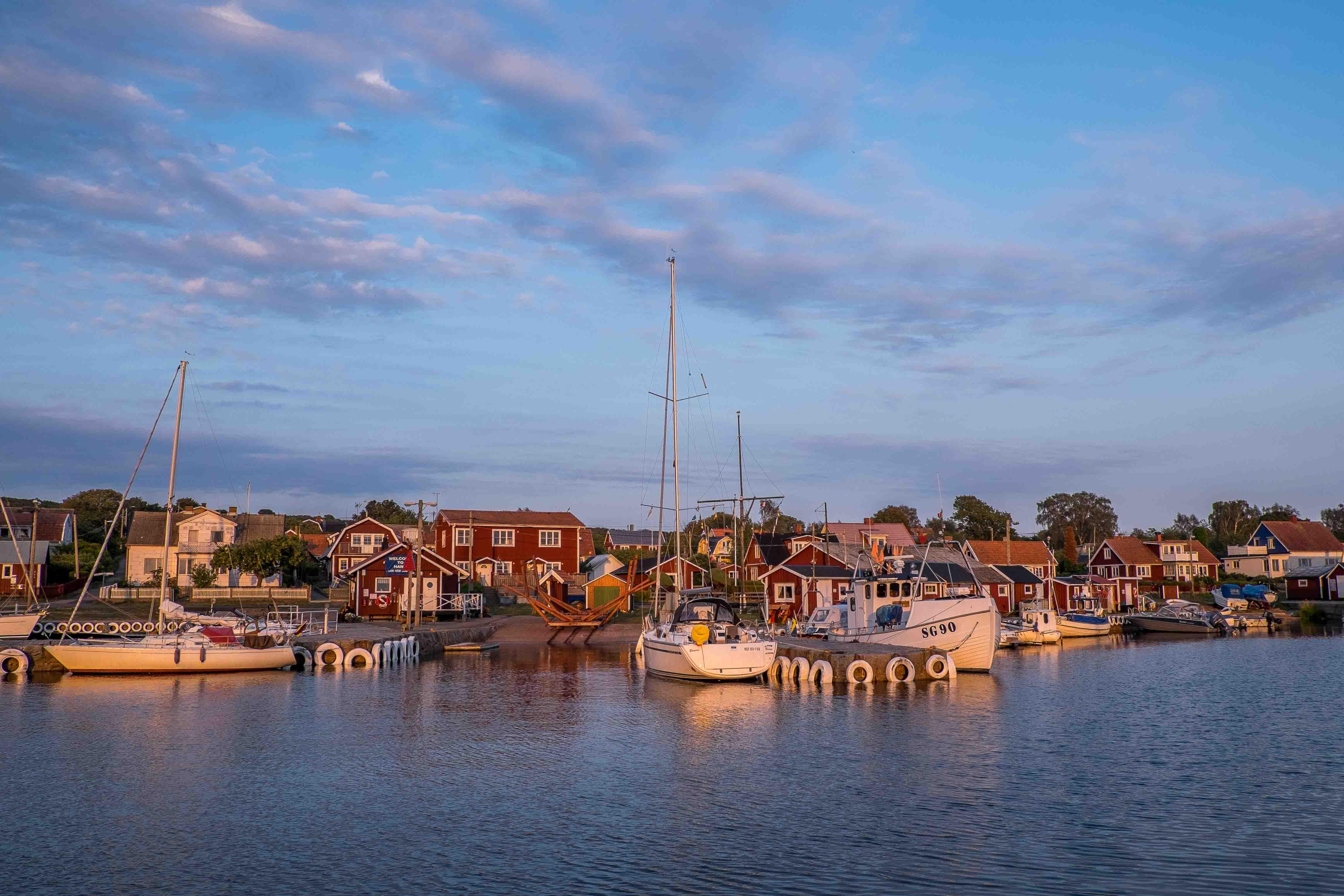 Hanö: Hafenstimmung