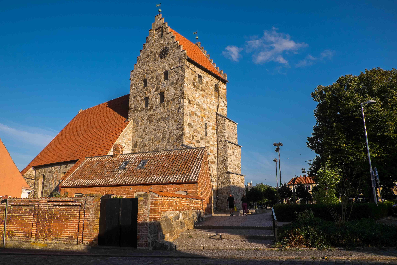 Simrishamn: bunte Steinmauern