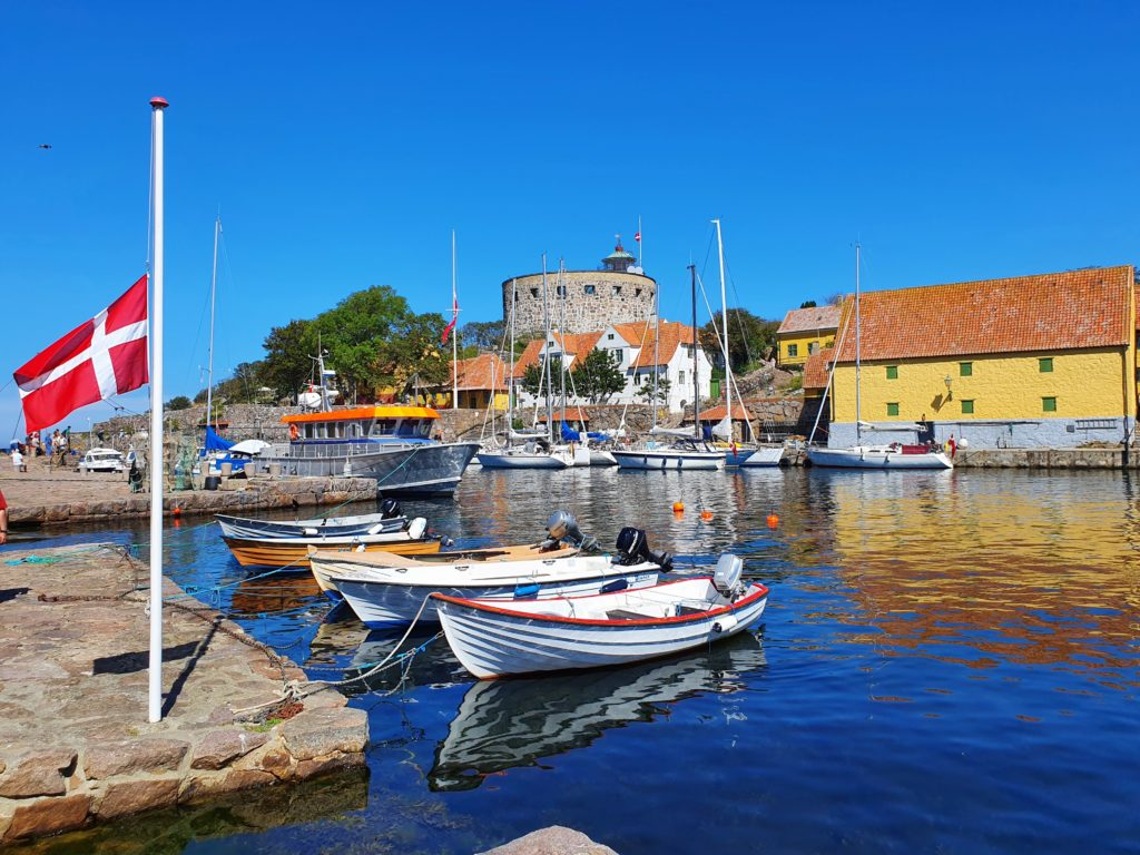 Frederiksø: Blick auf Christiansø