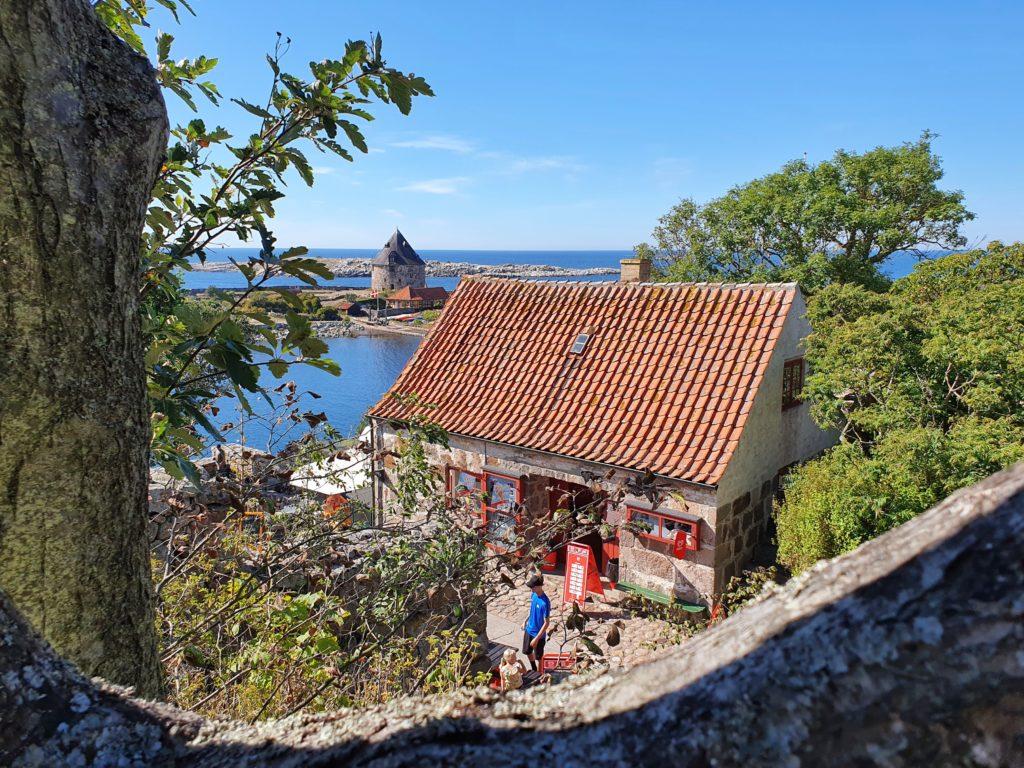 Christiansø: Blick auf Frederiksø