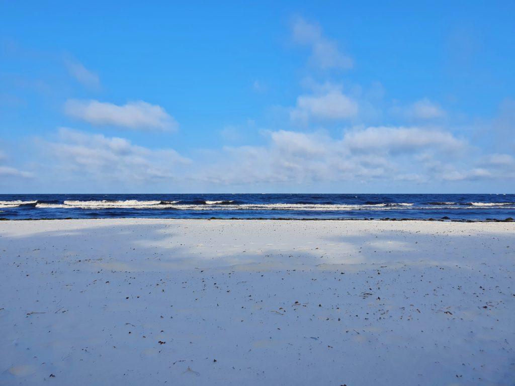 Snogebæk: Sandstrand